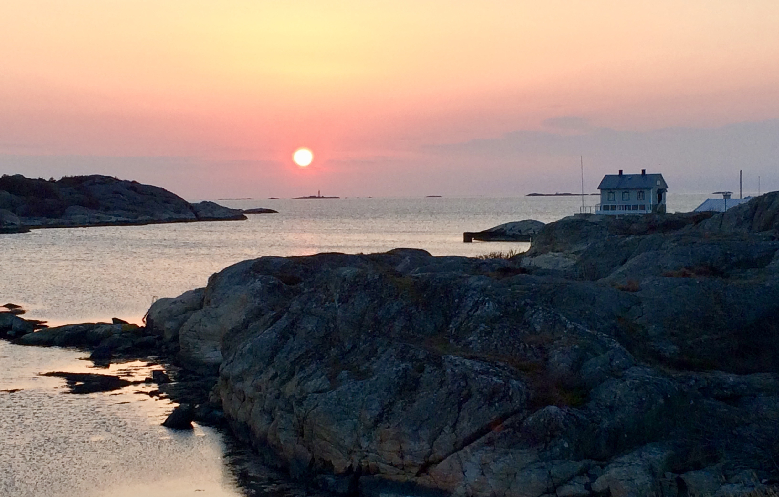 havsbild från Stockholms skärgård